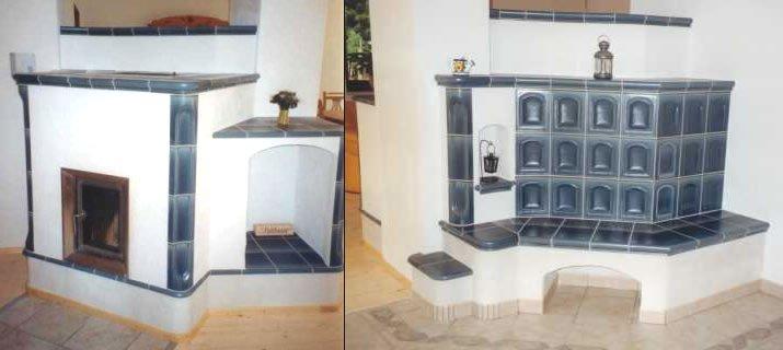 kachelofen mit heizwasserbereitung wassertechnik und auf r ckseite mit beheizbarer ofenbank. Black Bedroom Furniture Sets. Home Design Ideas